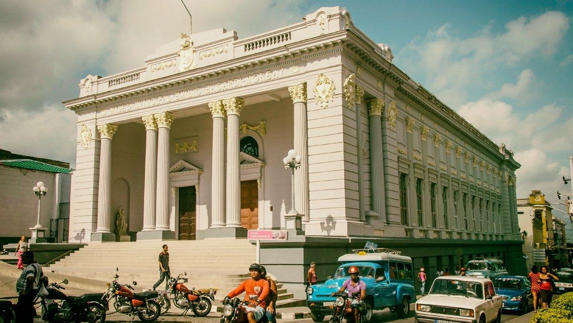 Fachada del Museo de Historia Emilio Barcardí
