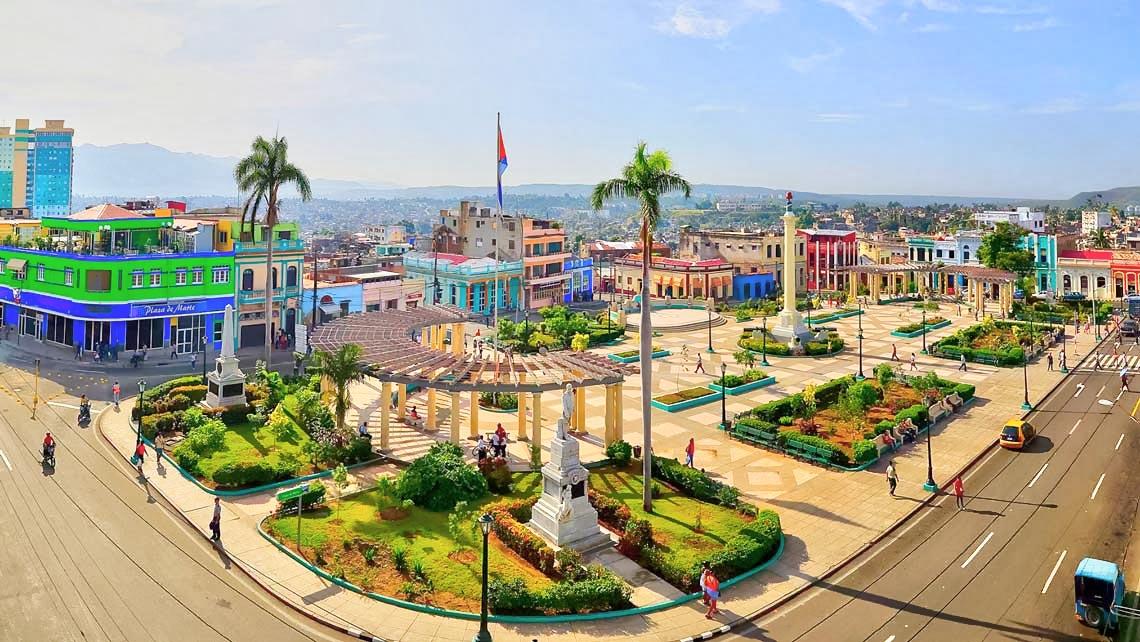 Monumento a Maceo en Santiago de Cuba