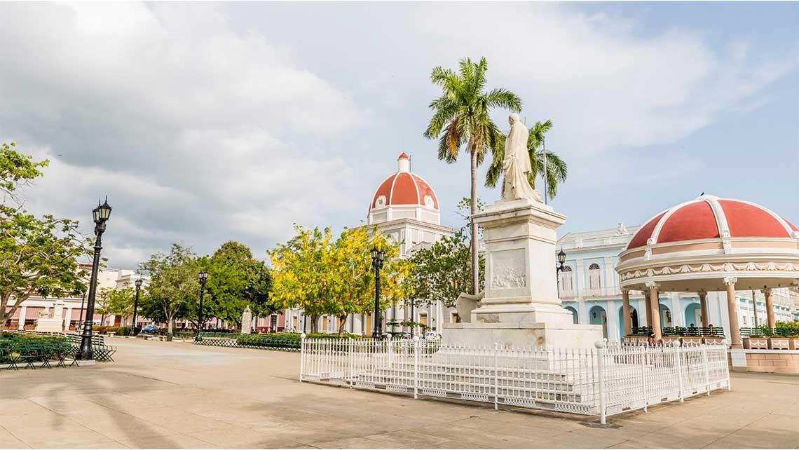 Centro de la ciudad de Cienfuegos