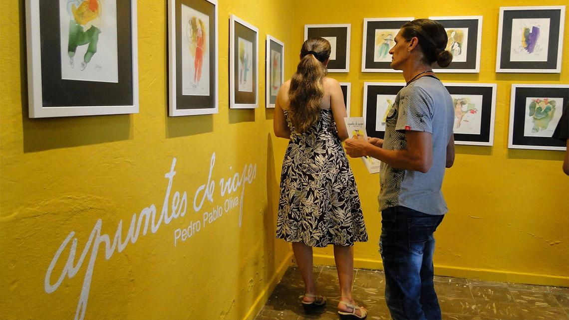 Galerias de arte en Cuba