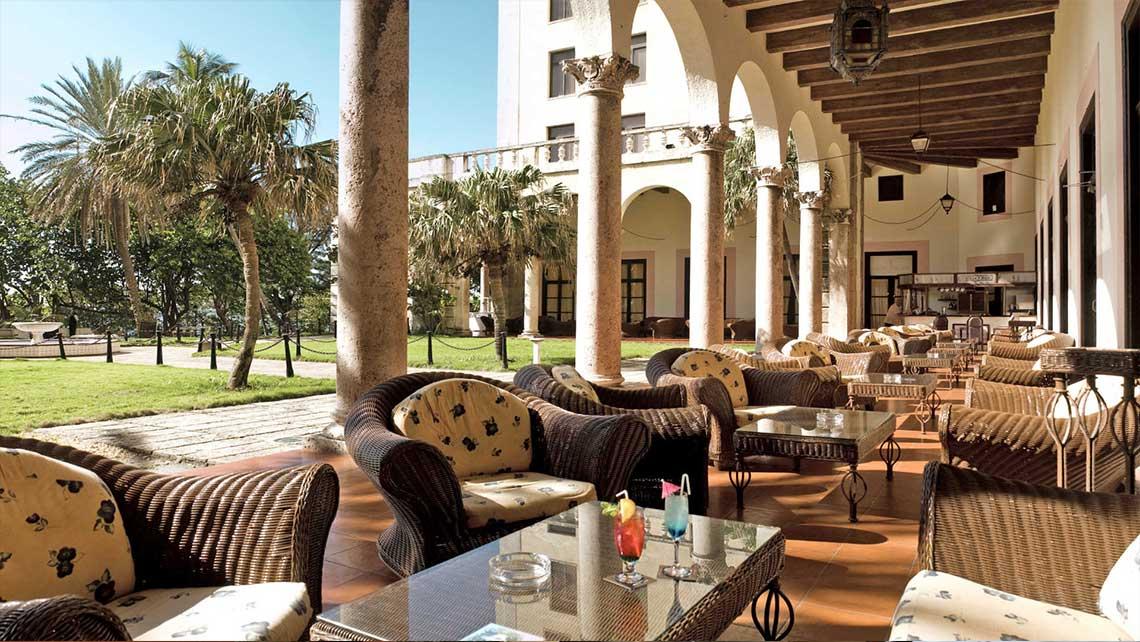 Terraza del Hotel Nacional de Cuba