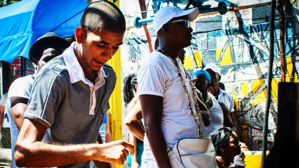 Altares yorubas en Cuba
