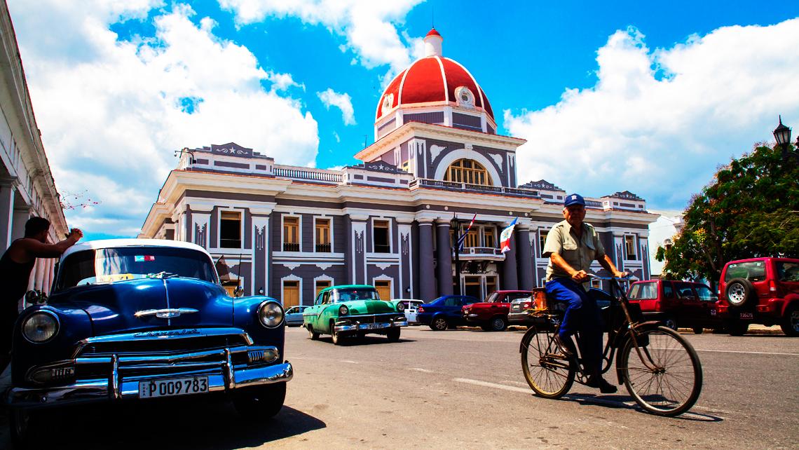 Cienfuegos: el centro de Cuba