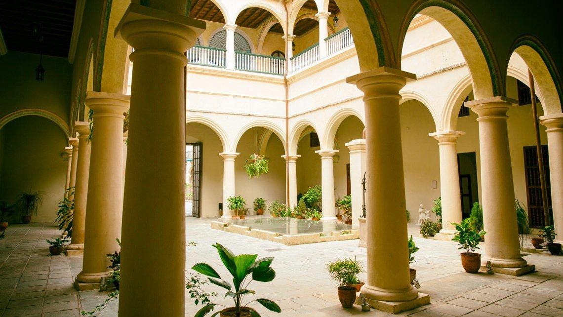 Palacio del Marqués de Arcos, Cuba