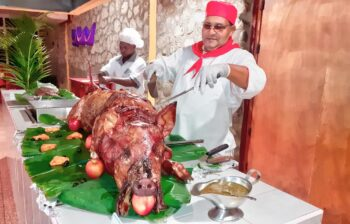 cerdo en la coicna cubana