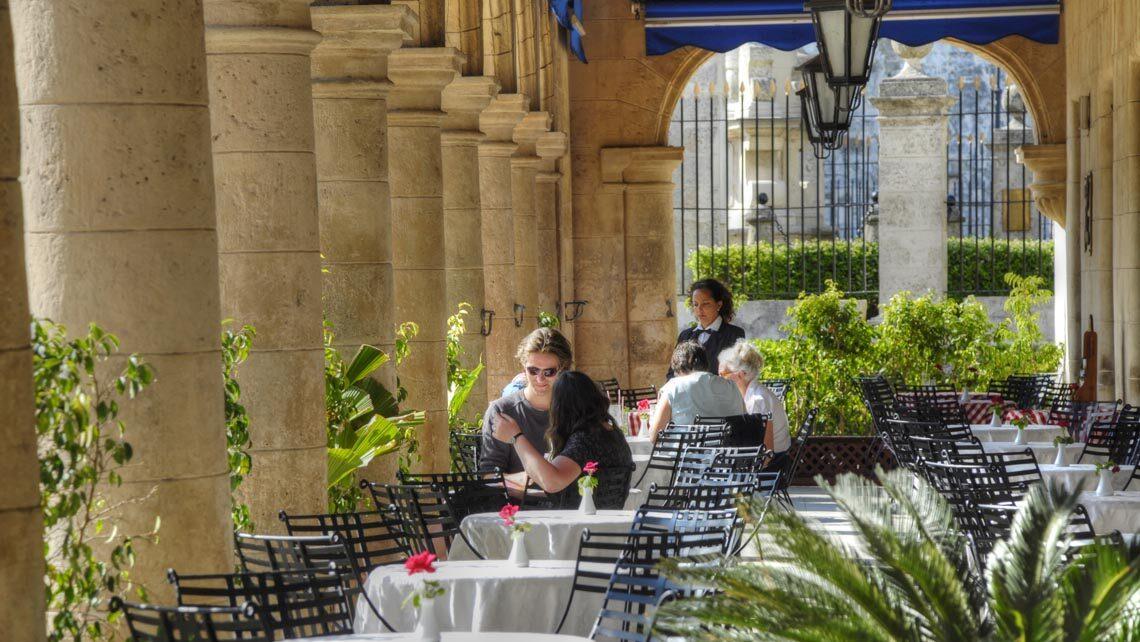 Desayunar en La Habana Vieja