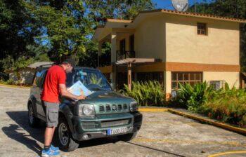 Rutas para coches en Cuba