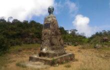 busto de marti en el pico turquino