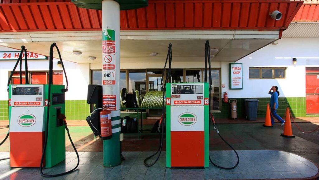 gasolineras en cuba